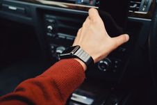 Free Smartwatch On Arm Stock Images - 83037554