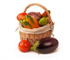 Free Basket Of Vegetables Royalty Free Stock Photo - 83037895
