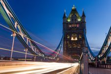 Free London Tower Bridge At Night Royalty Free Stock Photos - 83037928