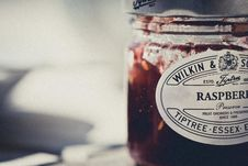 Free Raspberry Preserves Royalty Free Stock Images - 83038149
