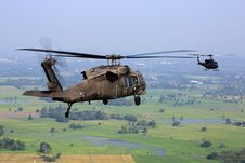 Free Brown Helicopter Flying Above Green Field During Daytime Stock Photography - 83038232