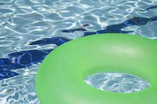 Free Green Inflatable Floatie Royalty Free Stock Image - 83038246