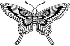 Free Papillon-001 Royalty Free Stock Image - 83039116