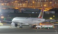 Free Commercial Jet On Apron Stock Image - 83039861