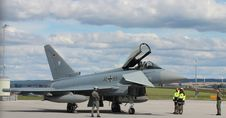 Free Eurofighter, Calden 30-65 Royalty Free Stock Photography - 83040527