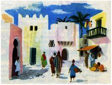Free Maison Afrique Du Nord Royalty Free Stock Photo - 83053135