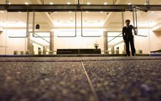 Free Man Inside Office Building Royalty Free Stock Photos - 83054228