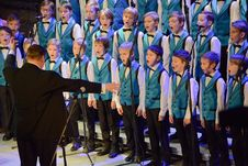 Free Boys Choir Singing Onstage Royalty Free Stock Photography - 83054757