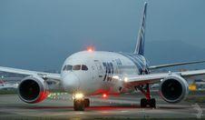 Free Boeing 787 Dreamliner On Runway Royalty Free Stock Images - 83054789