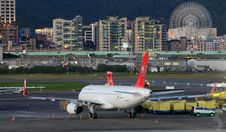 Free Jets On Runway  Stock Images - 83054874