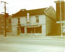 Free Restaurant, Belleville Circa 1970 Royalty Free Stock Photos - 83054978