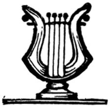Free Lyre-006 Royalty Free Stock Photography - 83055257