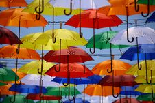 Free Colorful Umbrellas Stock Photography - 83057812