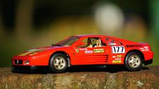 Free Black And Red Race Car Diecast Royalty Free Stock Image - 83058076