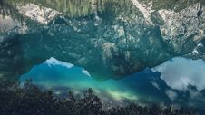 Free Clear Water Reflection Of Mountain Stock Images - 83058434