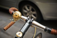 Free Bell On Bicycle Handlebar Stock Photos - 83059093