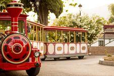 Free Tourist Train On Wheels Stock Photo - 83059440