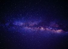 Free Blue Pink And White Andromeda Galaxy Way Royalty Free Stock Photos - 83059498