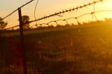 Free Black Chain Link Metal Fence In Grass Field Stock Images - 83059584