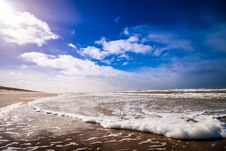 Free Bike Waves Of Sea Under Clouded Blue Sky During Daytime Stock Images - 83059644