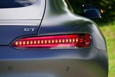 Free Taillight Of Sports Car Stock Photos - 83059693