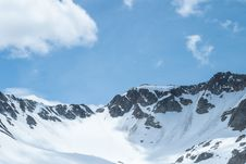 Free White And Black Mountain Cover By Snow Under White And Blue Sky During Daytime Stock Photo - 83059760