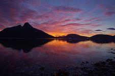 Free Mountains At Sunset Stock Photo - 83059800
