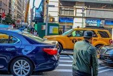 Free Traffic At Crosswalk Stock Photography - 83060112
