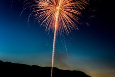 Free Yellow Fireworks Display During Nigh Time Stock Photo - 83060130