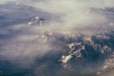 Free Hawkeye Photography Of Rocky Mountains During Foggy Day Stock Image - 83060341