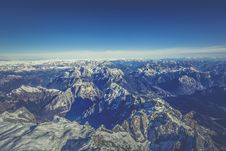 Free Aerial View Of Mountain Under Blue Sky During Day Time Stock Photo - 83060390