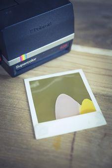 Free Black And Gray Polaroid Supercolor Printer Stock Image - 83060401