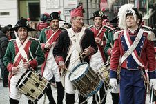 Free Vintage Italian Band Royalty Free Stock Image - 83060436