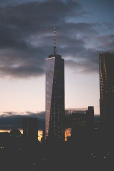 Free World Trade Center, Manhattan, New York Stock Photography - 83060492