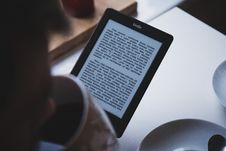 Free Amazon Kindle Reader Royalty Free Stock Photography - 83060527
