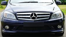 Free Blue Mercedes Sedan Near Green Grass Field During Day Time Royalty Free Stock Photography - 83060727