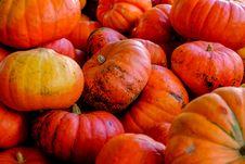 Free Pile Of Pumpkins Stock Image - 83060781