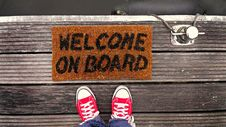Free Welcome On Board Royalty Free Stock Images - 83060789
