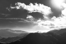 Free Clouds Over Mountains Royalty Free Stock Photography - 83061097