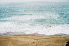 Free Waves On Beach Bay Stock Images - 83061544