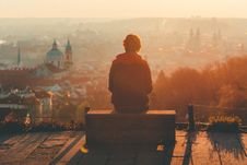 Free Looking Down On A Historic City Royalty Free Stock Image - 83061726