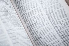 Free Open Dictionary Stock Photography - 83061732