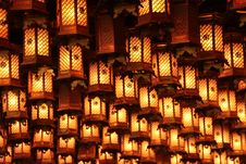Free Hanging Lanterns Royalty Free Stock Photos - 83061788