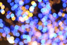 Free Blue And Yellow Bokeh Lights Royalty Free Stock Photo - 83061945