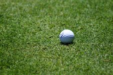 Free Golf Ball On Grass Stock Photo - 83061950
