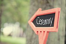 Free Way To Ceremony Stock Photo - 83061960