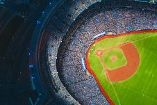 Free Aerial View Of Sports Stadium During Daytime Royalty Free Stock Photography - 83062057