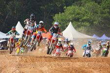 Free Motocross Race Stock Photos - 83062063
