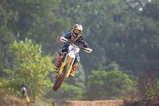 Free Motocross Racer Stock Photo - 83062100