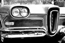 Free Classic Car In Grayscale Photography Stock Image - 83062281